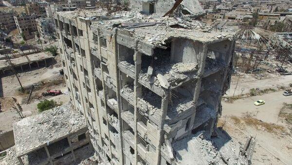 Kuşbakışı Halep - Sputnik Türkiye