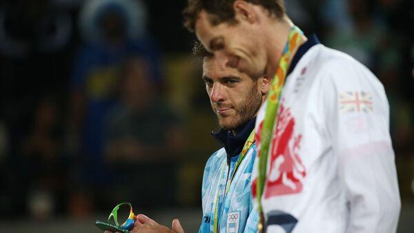 Juan Martin del Potro - Andy Murray / Rio Olimpiyat Oyunları - Sputnik Türkiye