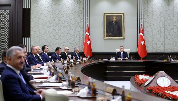 Cumhurbaşkanlığı Külliyesi - Bakanlar Kurulu - Sputnik Türkiye
