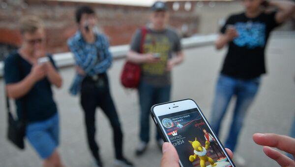 Игровое приложение Pokemon Go от компании Nintendo - Sputnik Türkiye