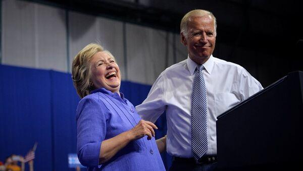 Hillary Clinton - Joe Biden - Sputnik Türkiye