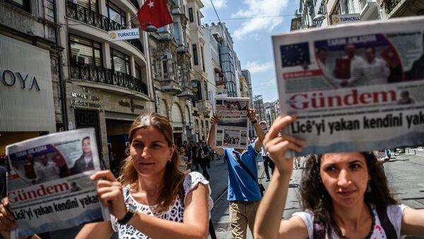 Özgür Gündem - Sputnik Türkiye