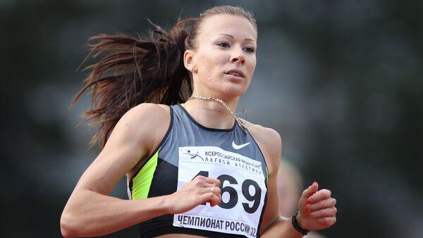 Rus atlet Yuliya Çermoşanskaya - Sputnik Türkiye