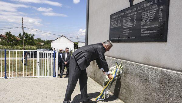 Kosova Cumhurbaşkanı ve Kosova Kurtuluş Ordusu'nun kurucularından Hashim Thaçi - Sputnik Türkiye