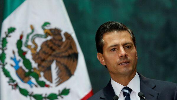 Meksika Devlet Başkanı Pena Nieto - Sputnik Türkiye