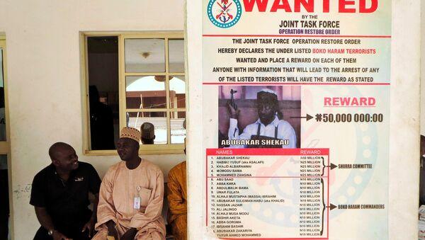 Nijerya hükümeti, Şekau'nun başına 50 milyon Nijerya nairası ödül koymuştu. Ülkenin kuzeydoğusundaki Borno eyalete çekilen bu fotoğrafsa 2013'ten. - Sputnik Türkiye