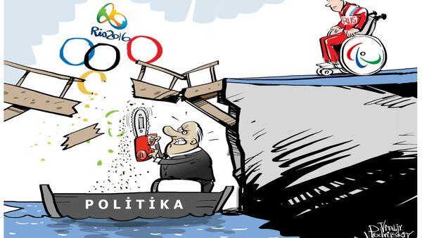 Rus atletlerin Paralimpik Oyunları'nda yarışmasına izin verilmedi - Sputnik Türkiye