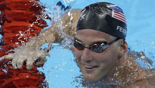 ABD'li yüzücü James Feigen - Sputnik Türkiye