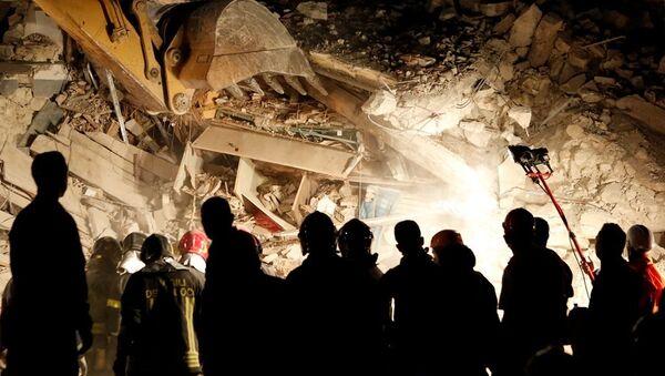 İtalya deprem - Sputnik Türkiye