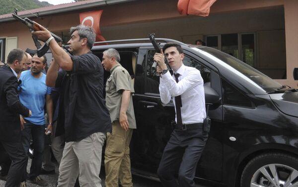 CHP lideri Kılıçdaroğlu'nun saldırı sonrası soğukkanlılığını koruması dikkat çekti. - Sputnik Türkiye