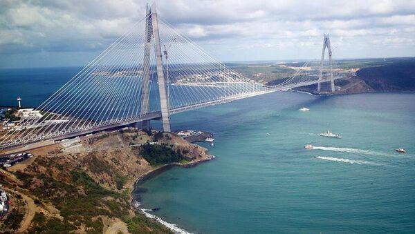 Yavuz Sultan Selim Köprüsü açılış - Sputnik Türkiye