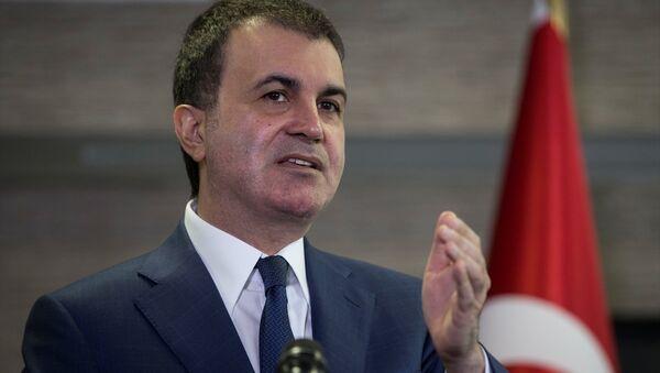 Avrupa Birliği Bakanı ve Başmüzakereci Ömer Çelik - Sputnik Türkiye