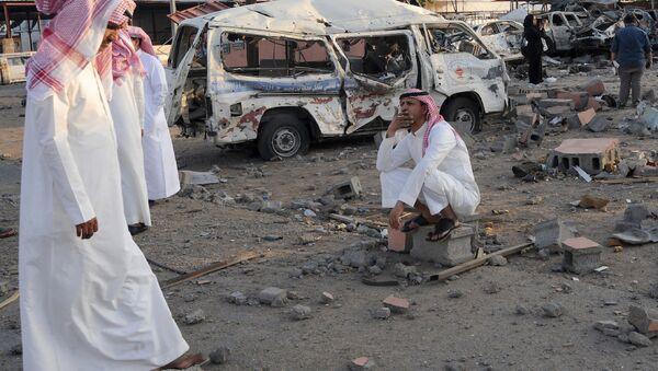 Suudi Arabistan'ın Yemen sınırındaki Necran kenti - Sputnik Türkiye