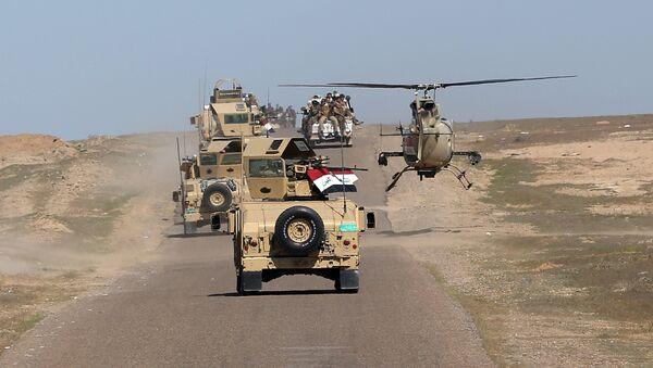 Irak'ın Anbar vilayetinde ordu güçlerinin operasyonları - Sputnik Türkiye