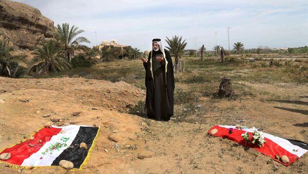 Irak'ta toplu mezar - Sputnik Türkiye