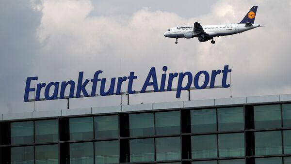 Frankfurter Flughafen - Sputnik Türkiye