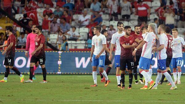Türkiye- Rusya maçı - Sputnik Türkiye