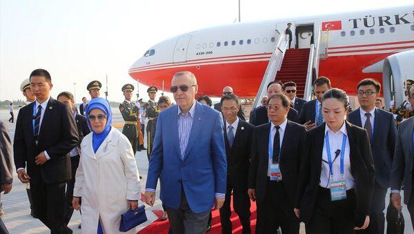 Cumhurbaşkanı Erdoğan G20 zirvesi için Çin'e geldi - Sputnik Türkiye