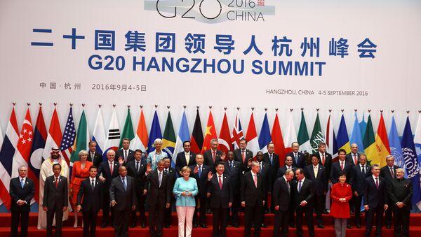 Çin'deki G20 Liderler Zirvesi - Sputnik Türkiye