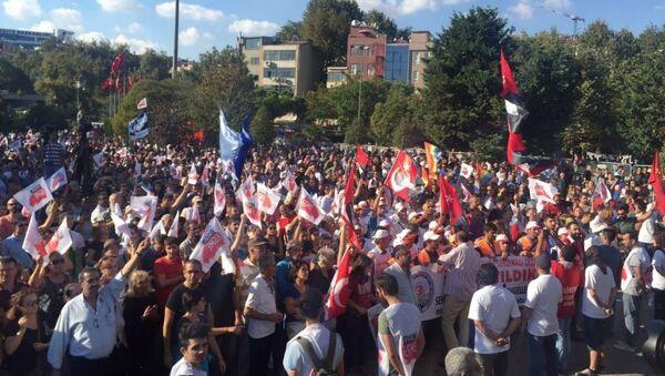 İstanbul Kartal'da darbe karşıtı miting - Sputnik Türkiye