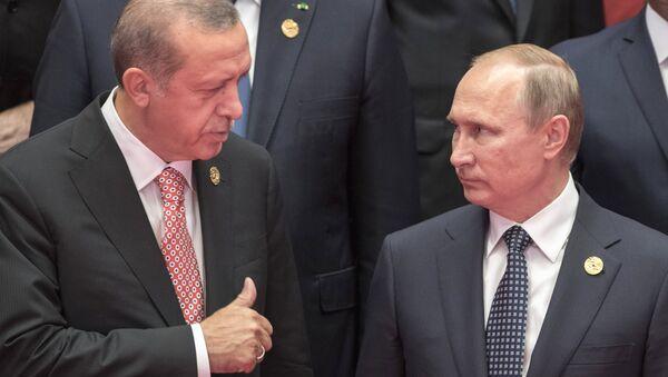 Putin, Erdoğan, G20 - Sputnik Türkiye