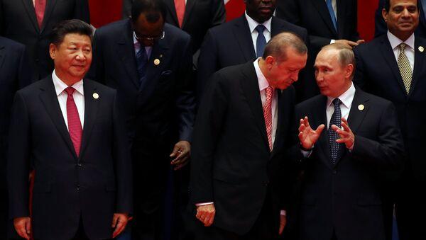 Putin, Şi Cinping, G20 - Sputnik Türkiye