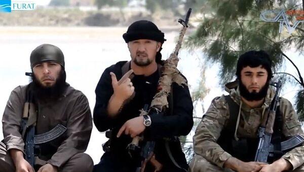 IŞİD'in yeni Irak operasyon sorumlusu Tacikistanlı Gulmurod Halimov - Sputnik Türkiye