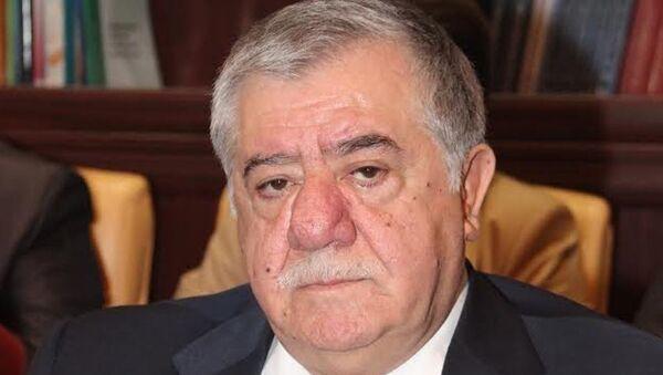 Eski Azerbaycan Başbakan Birinci Yardımcısı Abbas Abbasov - Sputnik Türkiye