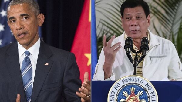 Obama-Duterte - Sputnik Türkiye
