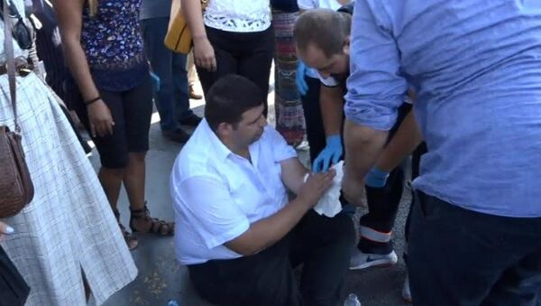 Metrobüs şoförü yolcuyu bıçakladı - Sputnik Türkiye