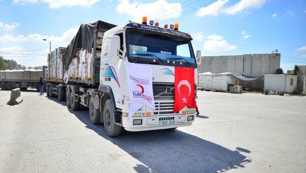 Gazze yardım Eclips - Sputnik Türkiye