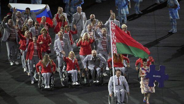 Belarus paralimpik takımı / 2016 Paralimpik Oyunları - Sputnik Türkiye