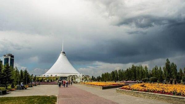 Tanrı, Kazakistan'ın 'tepesinden baktı' - Sputnik Türkiye