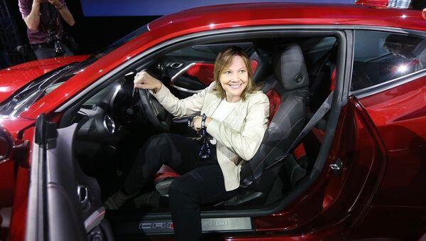 General Motors CEO, Mary Barra - Sputnik Türkiye
