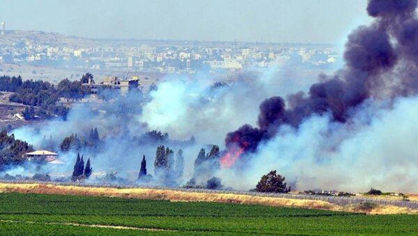 İsrail ordusundan Suriye'ye hava saldırısı - Sputnik Türkiye
