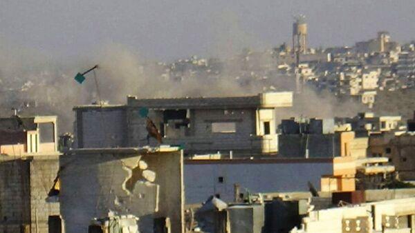 Kuşatma altındaki Suriye kentleri Fuaa ve Kefriye - Sputnik Türkiye