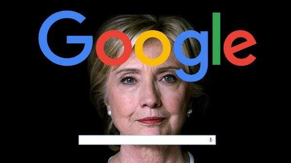 Google, Hillary Clinton - Sputnik Türkiye