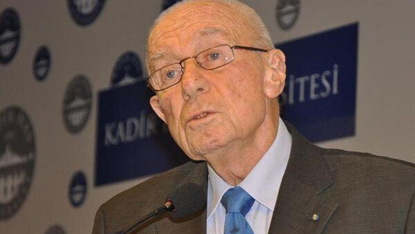 Alarko Holding Onursal Başkanı İshak Alaton - Sputnik Türkiye
