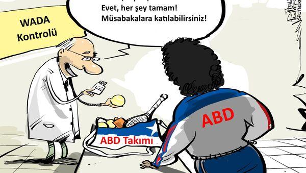 WADA, bazı ABD'li sporculara doping izni verdi mi? - Sputnik Türkiye