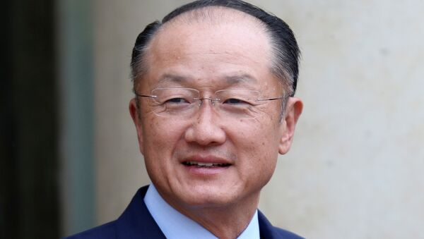 Dünya Bankası Grubu Başkanı Jim Yong Kim - Sputnik Türkiye