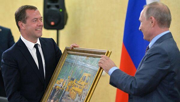 Vladimir Putin ve Dimitriy Medvedev - Sputnik Türkiye
