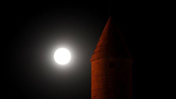 Parçalı Ay tutulması - Sputnik Türkiye