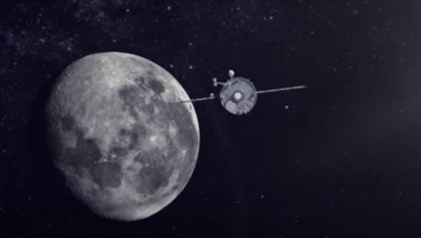 Rusya'da bir uzay turizmi projesi kapsamında Soyuz uzay aracı ile Ay'ın etrafında yolculuk fırsatının tanınması planlanıyor. - Sputnik Türkiye