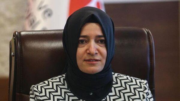 Aile ve Sosyal Politikalar Bakanı Fatma Betül Sayan Kaya - Sputnik Türkiye