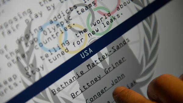 Fancy Bear'ın yayınladığı WADA bilgilerinin ikinci bölümü - Sputnik Türkiye