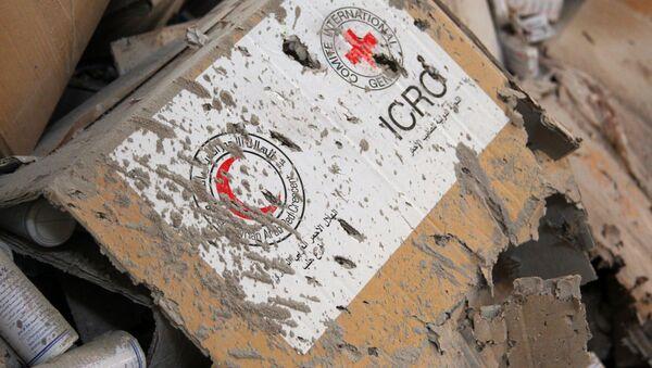 Suriye insani yardım / Suriye Kızılayı / Kızıl Haç - Sputnik Türkiye