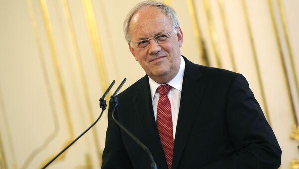 İsviçre Konfederasyon Başkanı Johann Schneider-Ammann - Sputnik Türkiye