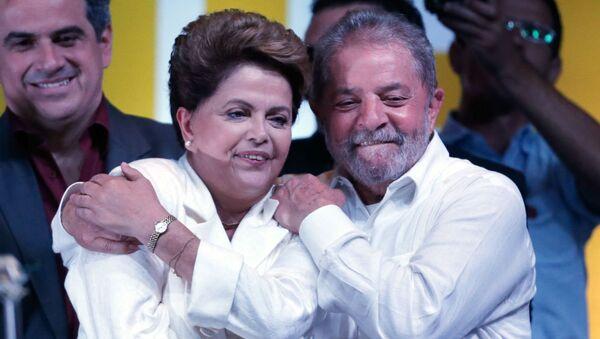 Dilma Rousseff e Lula. - Sputnik Türkiye