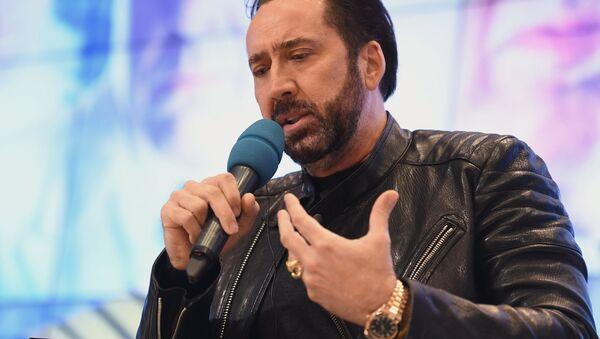 ABD'li oyuncu Nicolas Cage - Sputnik Türkiye