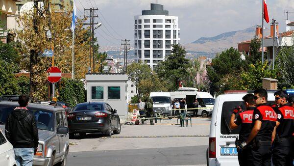 İsrail'in Ankara Büyükelçiliği'ne saldırı girişimi - Sputnik Türkiye
